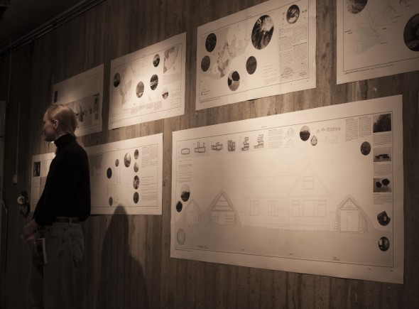 Diploma days exhibition at KTH School of Architecture, Stockholm.